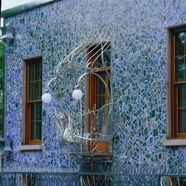 smoczy dom - piękny balkon