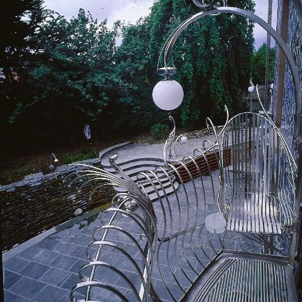 smoczy dom - widok z balkonu