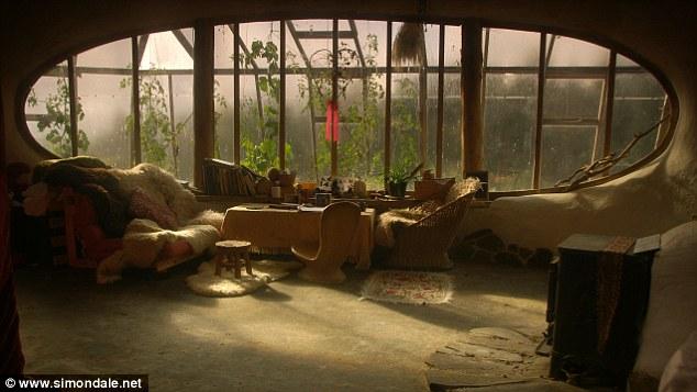 domek hobbita - dom w stylu fantasy