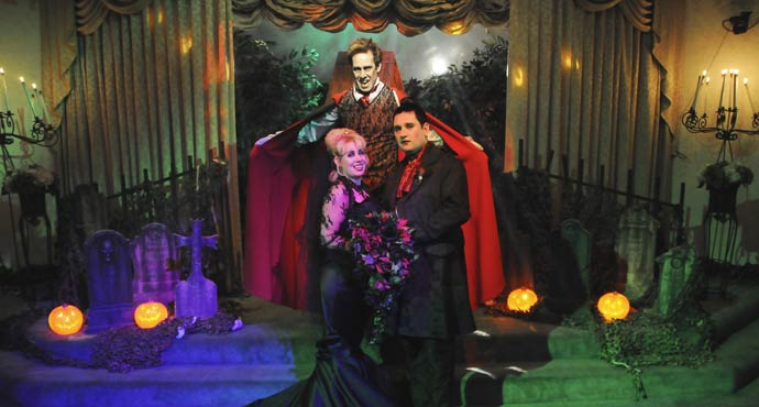 wampirzy ślub, gotyckie wesele