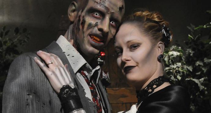 gotyckie śluby - goth gothic wesele