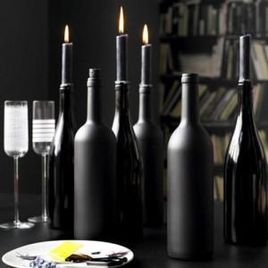 czarne świece czarna świeca