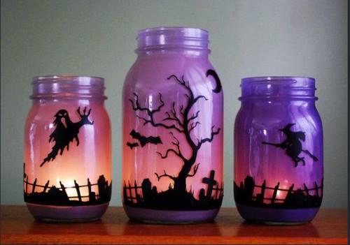 dekoracje na halloween tanie i pomysłowe