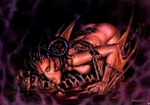 sukkub demon zmora nocna