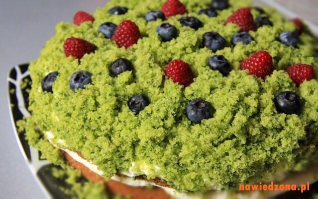 Ciasto czarownicy - Leśny mech