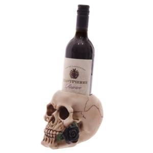 stojak do wina czaszka