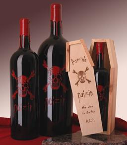 Mroczne wina i inne napoje alkoholowe idealne na Halloween.