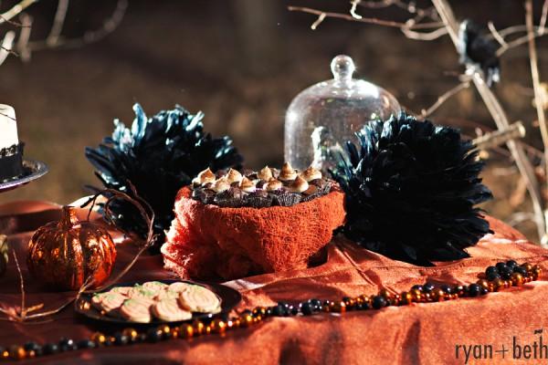 dekoracje na halloween, ciastka na halloween