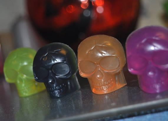 czaszki mydełka