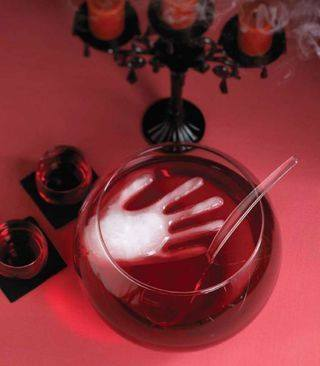 Poncz na Halloween, dekoracje