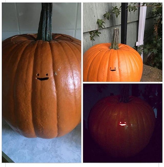 lampion z dyni dekoracje halloween na wesoło