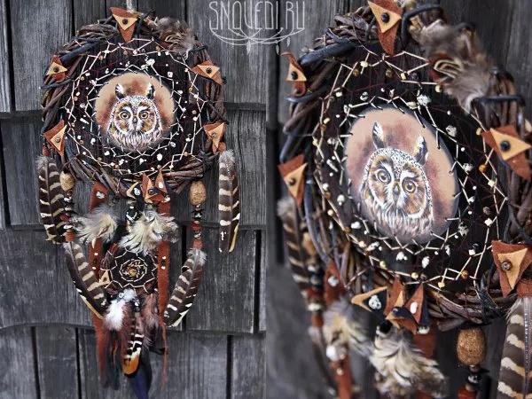 indiański łapacz snów znaczenie symbolika