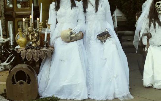 Najbardziej szalone dekoracje na Halloween :)