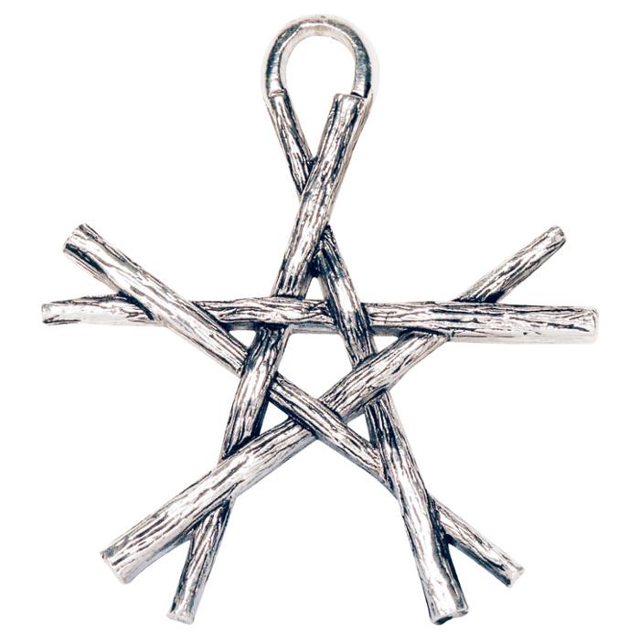 pentagram naszyjnik